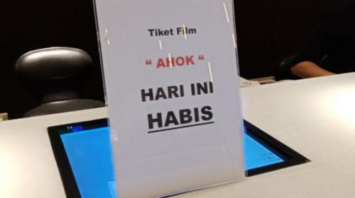 Jumlah Bioskop untuk 'A Man Called Ahok' Kurang