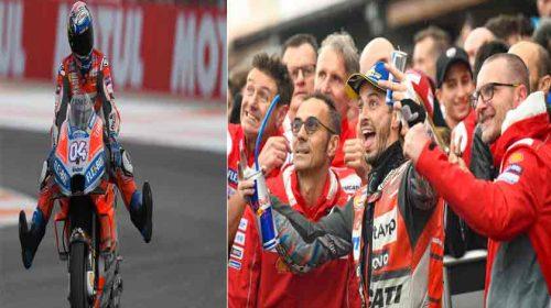Andrea Dovizioso Juara di Seri Terakhir MotoGP 2018 di Valencia