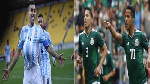 Prediksi Laga Persahabatan Argentina vs Meksiko 17 November 2018