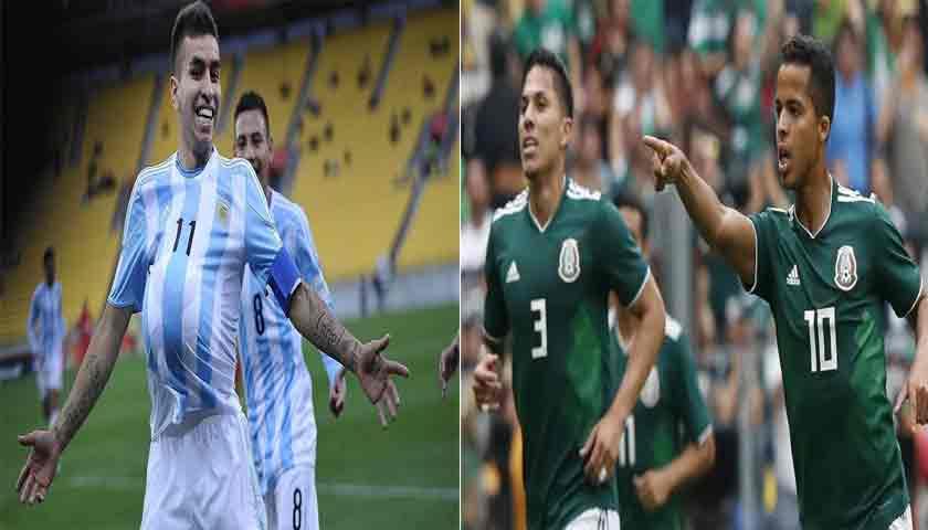 Prediksi Pertandingan Argentina vs Meksiko 17 November 2018