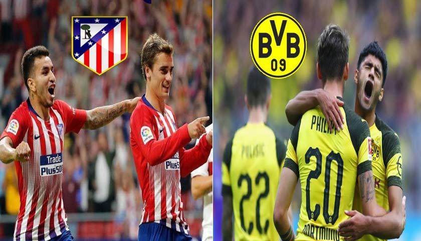 Prediksi Liga Champions Atletico Madrid vs Borussia Dortmund 7 November 2018