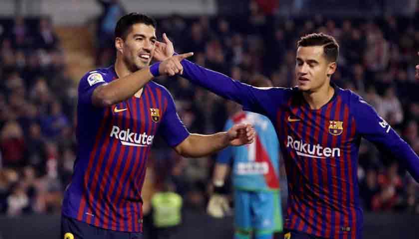 Barcelona Kokoh di Puncak Klasemen La Liga 2018/19