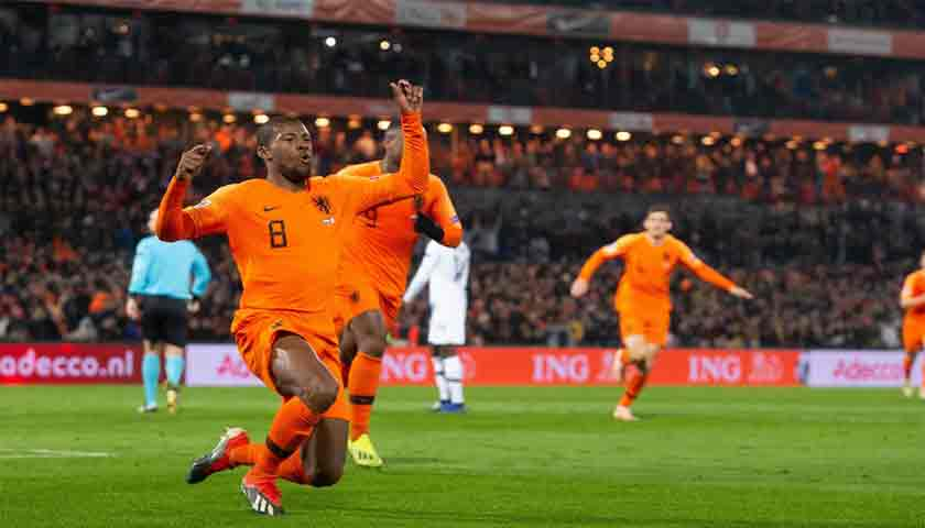 Belanda Bungkam Prancis di UEFA Nations League 2018