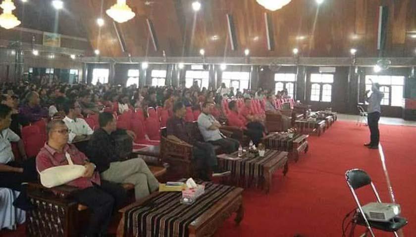Bupati Taput buka Acara Penyuluhan Hukum di Lingkungan Pemkab Taput