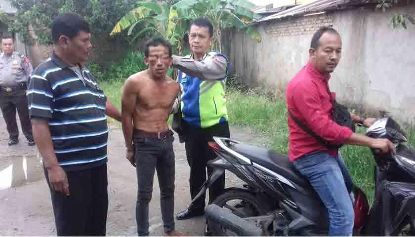 Gerebek Kampung Narkoba, Polsek Patumbak Borgol Pengedar Sabu