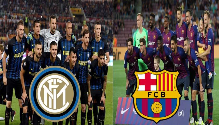 Prediksi Liga Champions Inter Milan vs Barcelona 7 November 2018