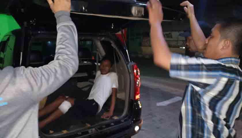 Jambret Dipelor Polisi, Nekat Serang Petugas, Nih Fotonya..!!!