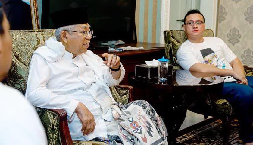 Elektabilitas di Sumatera Naik, Ma'ruf Yakin Dapat Dukungan Kader PBB