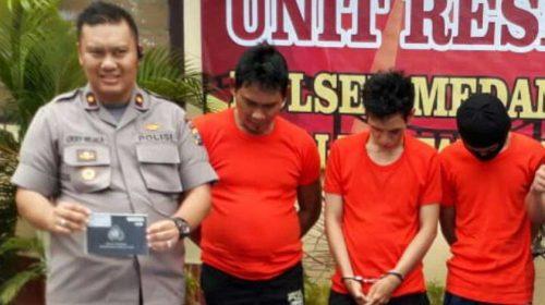 Dua Pelaku dan Penadah Curanmor Diringkus Polisi, Salah Satunya Ditembak