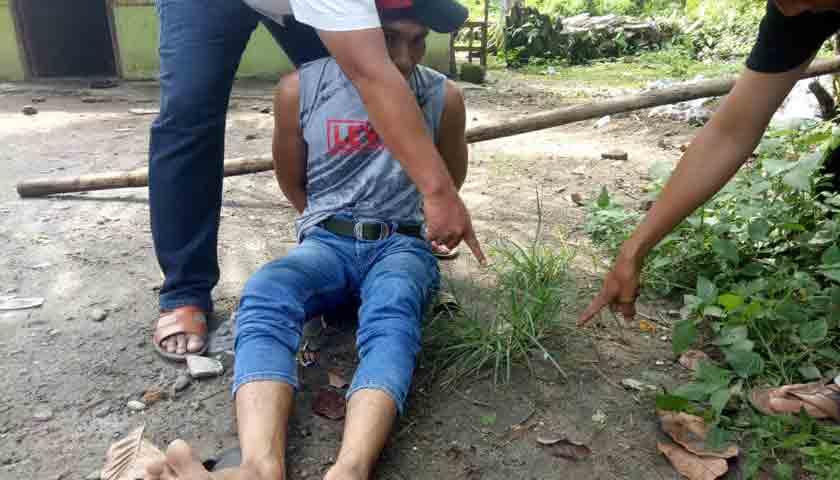 Pecandu Sabu Ditangkap, Dijebloskan ke Sel Tahanan