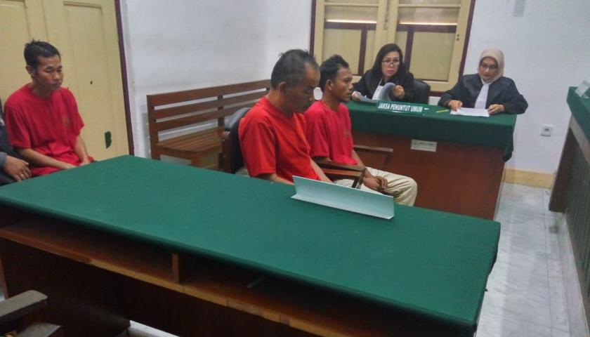2 Pengedar 1 Kg Sabu Asal Aceh Utara Dituntut 17 Tahun Penjara