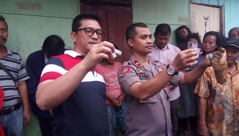 Polsek Sunggal Ringkus Pria dan Wanita Lagi Asik Pesta Sabu dalam Kamar Kos