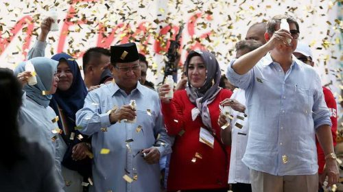 Prabowo Sebut Rakyat Banyak yang Menganggur