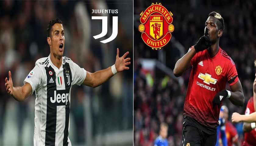 Prediksi Liga Champions Juventus vs Manchester United 8 November 2018