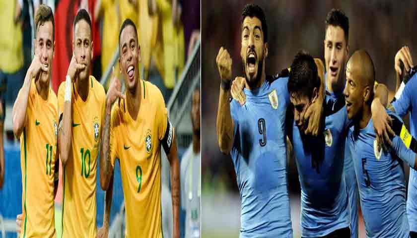 Prediksi Laga Persahabatan Brasil Vs Uruguay 17 November 2018