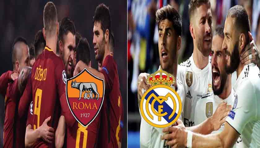 Prediksi Liga Champions AS Roma vs Real Madrid 28 November 2018