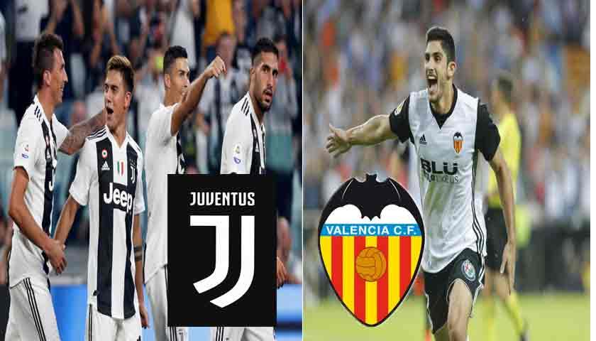 Prediksi Liga Chamipons Juventus vs Valencia 28 November 2018