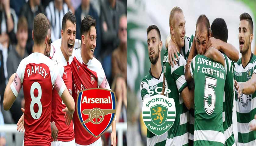 Prediksi Liga UEFA Europa Arsenal Vs Sporting Lisbon 9 November 2018
