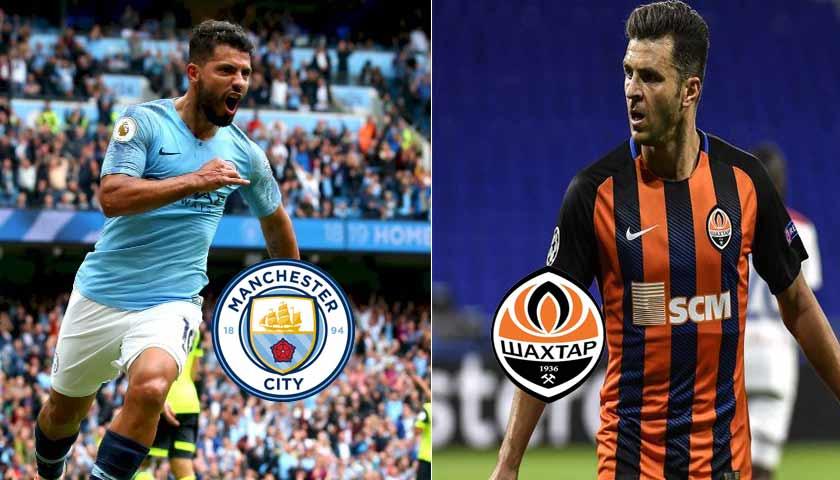 Prediksi Liga Champions Manchester City vs Shakhtar Donetsk 8 November 2018
