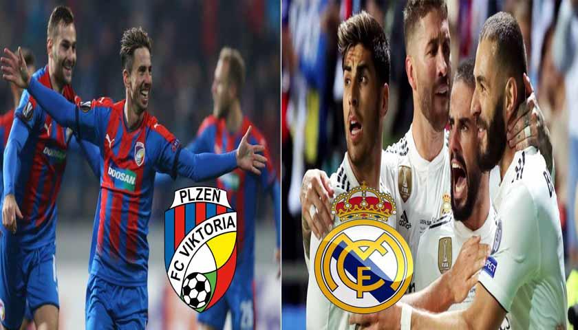 Prediksi Liga Champions Viktoria Plzen vs Real Madrid 8 November 2018