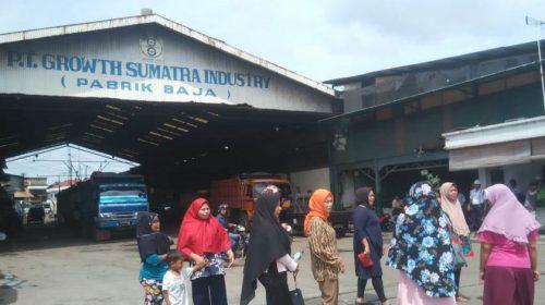 PT Growth Sumatra Didemo Puluhan Ibu-ibu