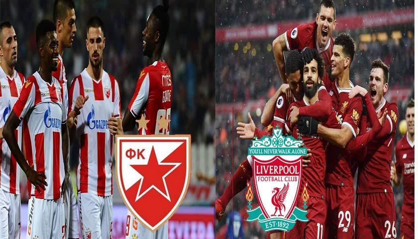 Prediksi Liga Champions Red Star Belgrade vs Liverpool 7 November 2018