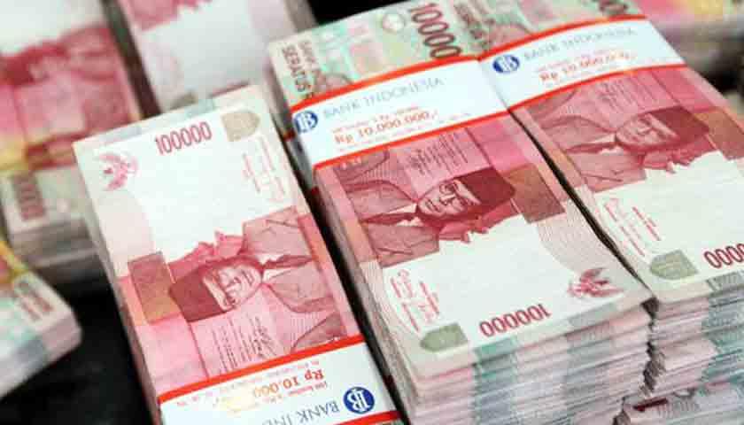 Rupiah Rontok Lagi, Bertengger di Rp 14.755 per Dolar AS