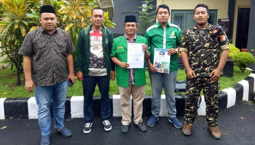 Sebarkan Ujaran Kebencian, PW GP Ansor Sumut Laporkan Pemilik Akun FB ke Poldasu
