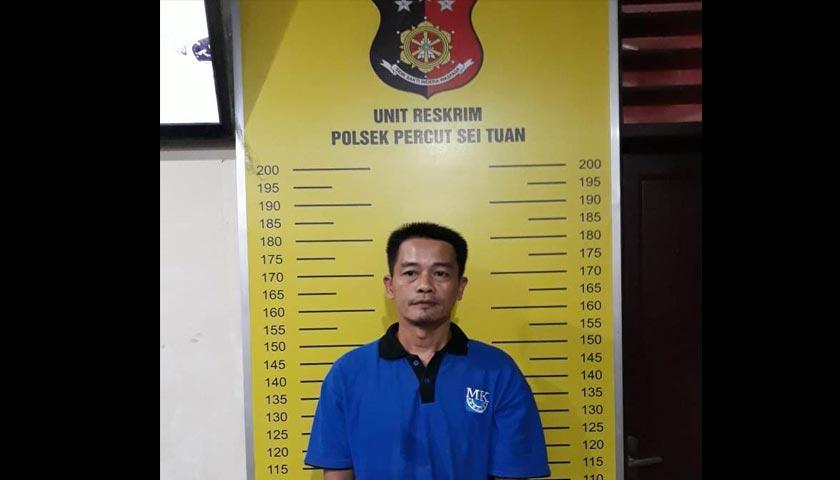 Terekam CCTV, Pencuri Ini Diciduk Polisi Dari Rumahnya