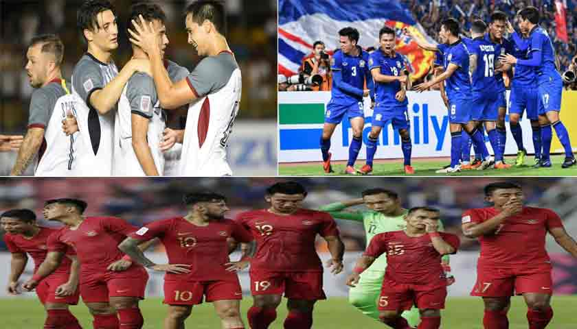Duel Filipina vs Thailand Imbang 1-1, Timnas Indonesia Out dari Piala AFF 2018