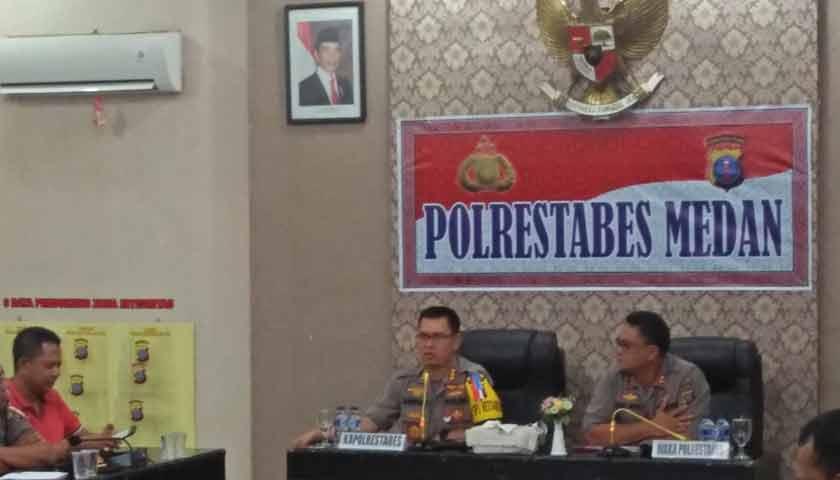 1.432 Personil Polrestabes Medan Disiapkan Jaga Malam Pergantian Tahun