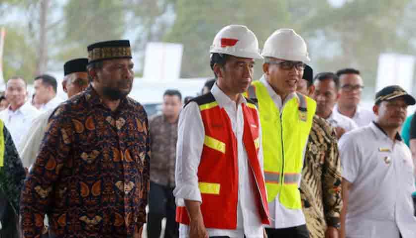 Bangun Tol Aceh 74 Kilometer, Jokowi Tekan Tombol Sirene