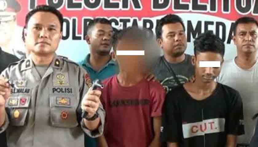 Spesialis Curanmor di Rumah Ibadah Disergap Polisi, 1 Tersangka Ditembak