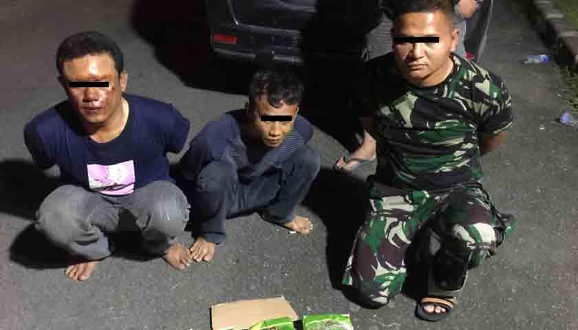 Bandit Narkoba Antar Negara Ditangkap, 1 Pakai Baju Loreng