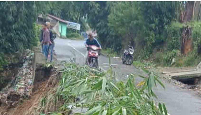 Curah Hujan Tinggi, Kabupaten Karo Rawan Longsor