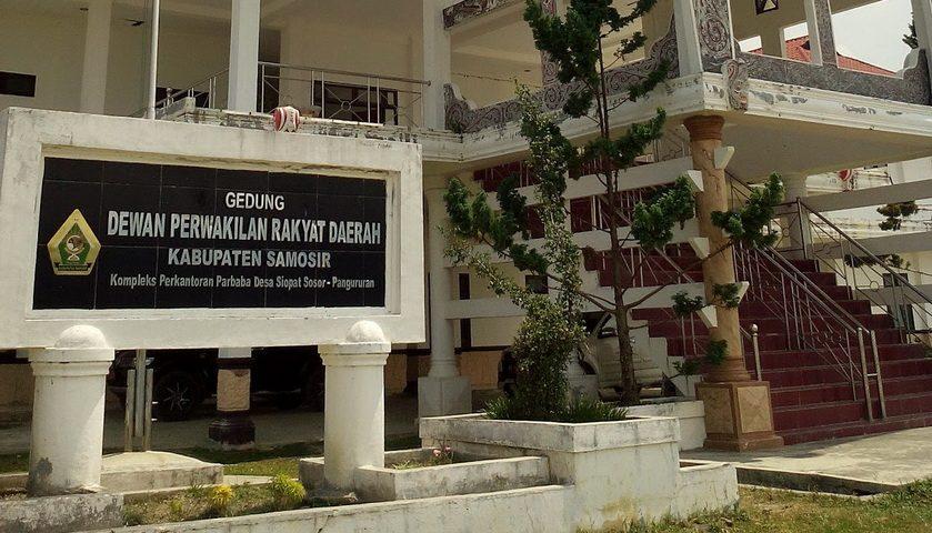 Istri Bupati Tinggalkan Rapat Banggar DPRD Samosir