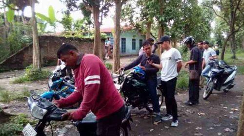 Gerebek Kampung Narkoba, Polisi Amankan 4 Sepedamotor Pengguna Narkotika