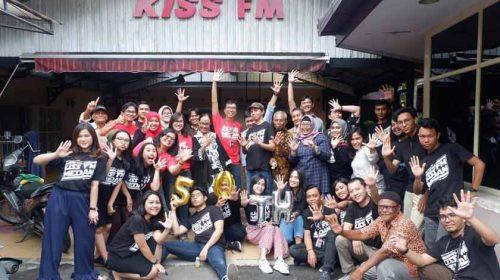 HUT ke-50 Tahun, KISS FM Tetap Berkomitmen Jadi Radio Terdepan Di Medan