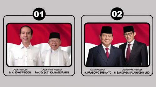 Iklan KPU Soal Capres Sudah Sesuai Nama yang Didaftarkan