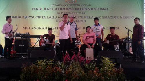 Peringati HAKI: Kejari Medan Gelar Lomba Cipta Lagu Anti-Korupsi