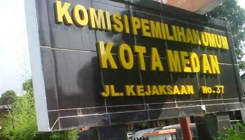 Wow!! KPU Kota Medan Simpan Logistik Pemilu di Gudang Berbiaya Rp400 Juta