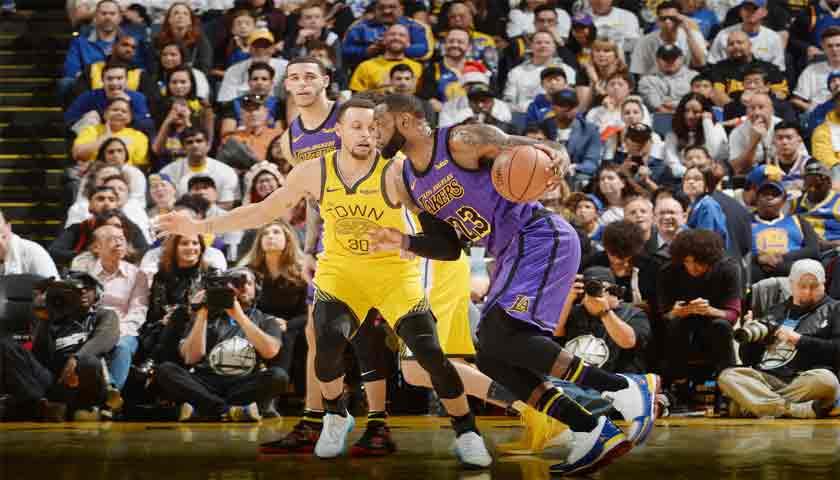 NBA 2018-2019, LeBron James Bawa Lakers Libas Warriors