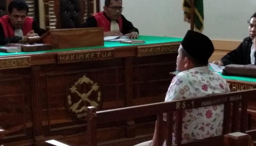 Terdakwa Korupsi Mantan Kadis PU Madina tidak Ditahan