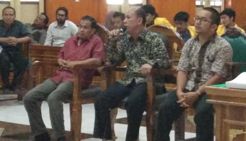Giliran Sekda Tapteng Didengarkan Kesaksiannya di PN Medan