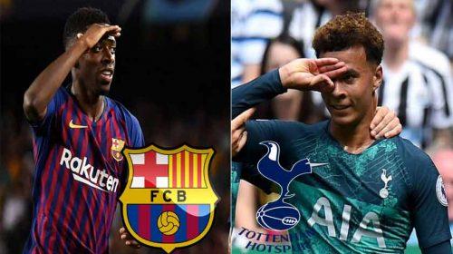Prediksi Liga Champions Barcelona vs Tottenham Hotspur 12 Desember 2018
