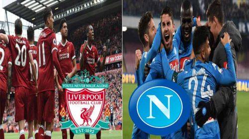 Prediksi Liga Champions Liverpool vs Napoli 12 Desember 2018
