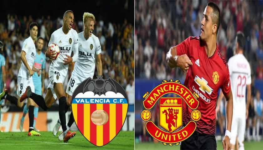 Prediksi Liga Champions Valencia vs Manchester United 13 Desember 2018