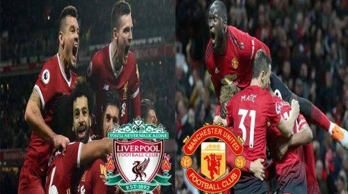Prediksi Liga Inggris Liverpool vs Manchester United 16 Desember 2018