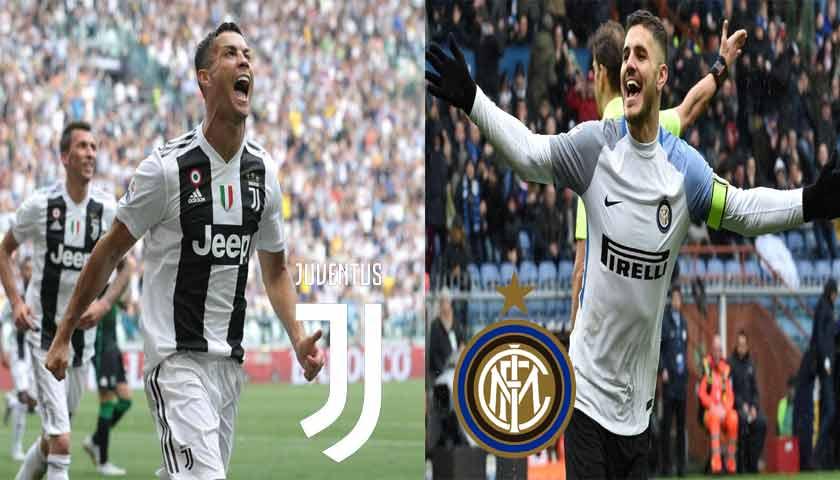 Prediksi Liga Italia Juventus vs Inter Milan 8 Desember 2018