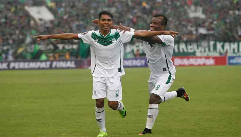 PSMS Medan Sementara Unggul 2-0 Atas Persebaya